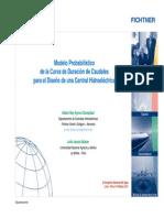 Modelo Probabilistico de La Curva de Duraciones Ayros 2011