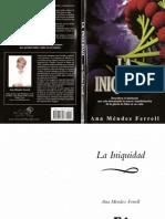 La Iniquidad - Ana Mendez