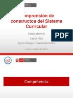 CONSTRUCTOS DEL SISTEMA CURRICULAR-Junín