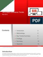 2013 B2B Commerce Trends