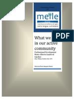 MEILE Mario Communitiesof Prac Essay