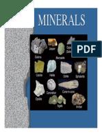 11 - 1 Minerals