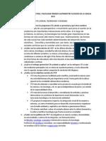 CUESTIONARIO CUATRIMESTRAL  PSICOLOGÍA PRIMER CUATRIMESTRE FILOSOFÍA DE LA CIENCIA 2013