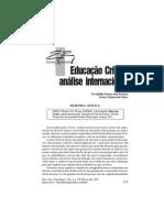 educação crítica_resenha