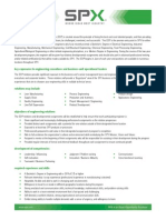 SPX Engineering Development Program EDP 2013
