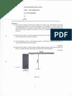 Geo technical Past paper