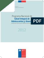 Programa Nacional de Salud Integral de Adolescentes y Jóvenes