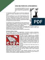 Las Dictaduras Militares en Latinoamerica - Copia