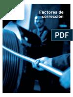 FactoresCorrección en Cables