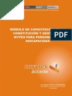 Modulo Capacitacion Mypes Pcd