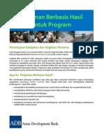 Piloting Results-Based Lending for Programs (Bahasa)