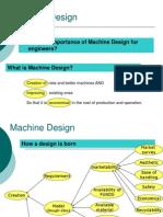 Machine Design - Introduction