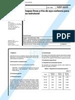 NBR 06649 - 1986 - Chapas Finas a Frio de Aço Carbono para Uso Estrutural.pdf