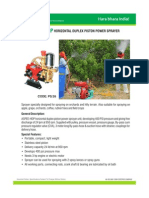 Hdp Horizontal Duplex Piston Power Sprayer Ps 26 2011