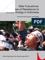 Resistance in Indonesia After Fukushima