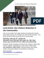 Local Action Gun Event 02-08-14 Invitation