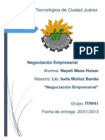 Negociacion Empresarial