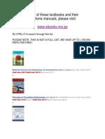 Free Textbooks Engineering Technology Electronics Finances