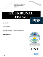 Trabajo de Tribunal Fiscal - Tributario II