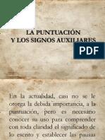 LA PUNTUACIÓN