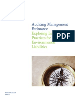 Exploring Leading Practices for Environmental Liabilities