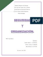 Trabajo Seguridad y Organizacion