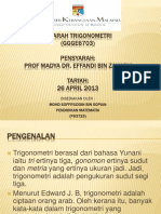 Sejarah Trigonometri (Present)