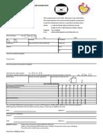 Exhibit Application Form (FIAP) Malaysia 2014