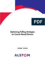 R6540A - Optimising Polling Strategies on Courier Based Devices