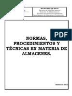 Manual de Procedimientos 2012