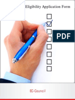 CEH Exam Eligibility Application Form v1.1 19012012