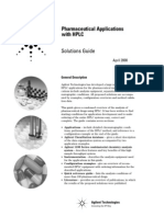 Pharmaceutical Applications With HPLC