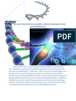 the_light_encoded_dna_filament_and_biomolecular_quantum_communication