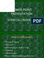 Stem Cell Presentation