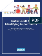 Basic Guide to Identifying Impairments