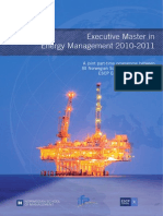 Executive Master in Energy Management