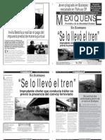 Versión impresa del periódico El mexiquense 29  enero 2014