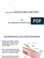 Lecture on the Physiology of Neuromuscular Junction (NMJ) by Dr. Roomi