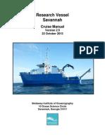 Cruise Planning Manual