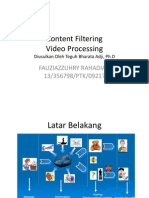 Content Filtering (Video Processing) - Zuhry