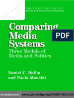 [Daniel C. Hallin, Paolo Mancini] Comparing Media
