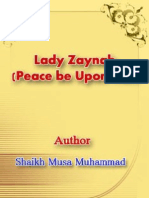 Lady Zaynab Peace Be Upon Her