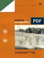 Bulletin FAO_Assessing Land Degradation