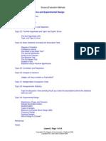 Lesson 2 - Univariate Statistics and Experimental Design