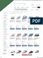 Fiare, Statii & Prese de Calcat Producatori BOSCH , Rowenta , Tefal , Philips , Electrolux Tip Produs Fier de Calcat Putere (W) 2000 - 3000 Anti-Calcar Da Auto-Curatare Da Pret Asc Online - eMAG