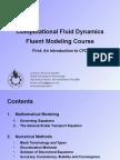 Computational Fluid Dynamics-First