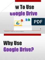 How to Use Google Drive (for beginners)