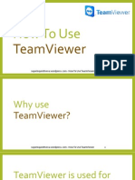 How to Use TeamViewer (for beginners)