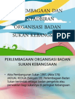99569857 Perlembagaan Dan Pentadbiran Organisasi Badan Sukan Kebangsaan