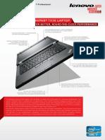 Lenovo ThinkPad T430 Datasheet